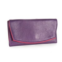 Card Case Wallet Purple